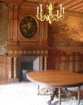 Château de Kergurione : Petit Salon
